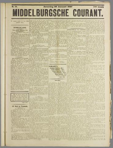 Middelburgsche Courant 1927-01-29