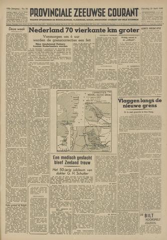 Provinciale Zeeuwse Courant 1949-04-23