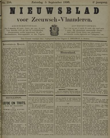 Nieuwsblad voor Zeeuwsch-Vlaanderen 1896-09-05