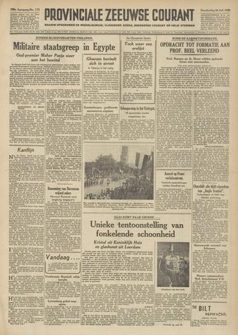 Provinciale Zeeuwse Courant 1952-07-24