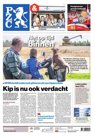 Provinciale Zeeuwse Courant 2017-08-08