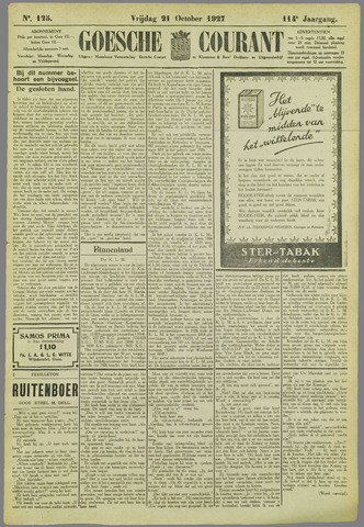 Goessche Courant 1927-10-21