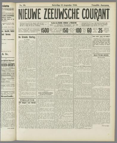Nieuwe Zeeuwsche Courant 1916-08-12