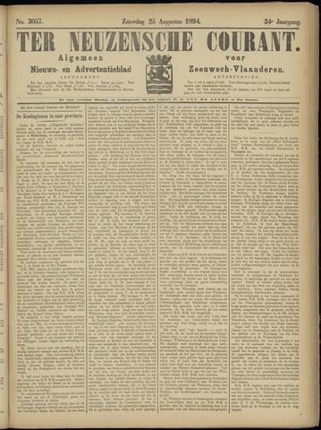 Ter Neuzensche Courant. Algemeen Nieuws- en Advertentieblad voor Zeeuwsch-Vlaanderen / Neuzensche Courant ... (idem) / (Algemeen) nieuws en advertentieblad voor Zeeuwsch-Vlaanderen 1894-08-25