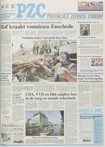 Provinciale Zeeuwse Courant 2003-05-13