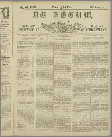 De Zeeuw. Christelijk-historisch nieuwsblad voor Zeeland 1906-03-24