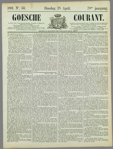 Goessche Courant 1891-04-28