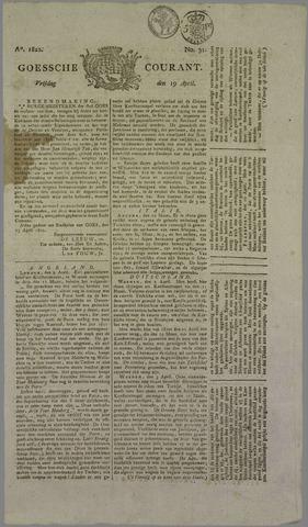 Goessche Courant 1822-04-19