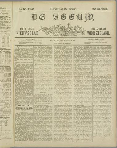 De Zeeuw. Christelijk-historisch nieuwsblad voor Zeeland 1902-01-23
