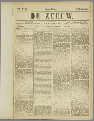 De Zeeuw. Christelijk-historisch nieuwsblad voor Zeeland 1890-06-24