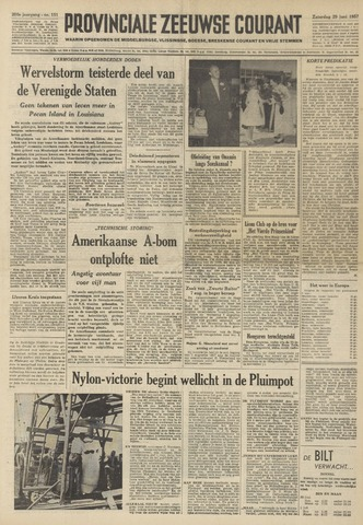 Provinciale Zeeuwse Courant 1957-06-29