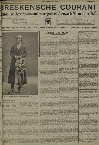 Breskensche Courant 1934-10-12