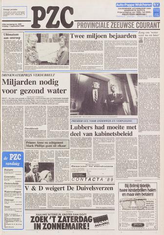 Provinciale Zeeuwse Courant 1989-09-01