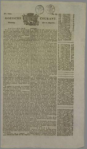 Goessche Courant 1822-08-12