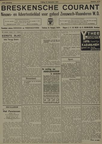 Breskensche Courant 1935-09-27