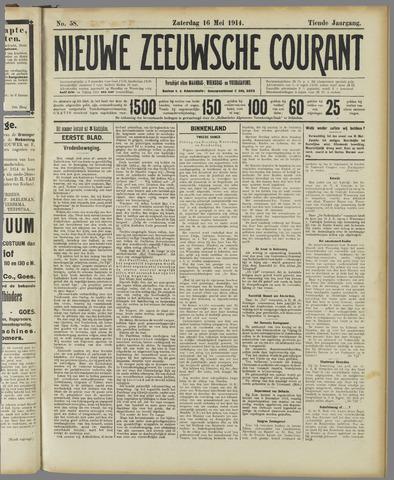Nieuwe Zeeuwsche Courant 1914-05-16