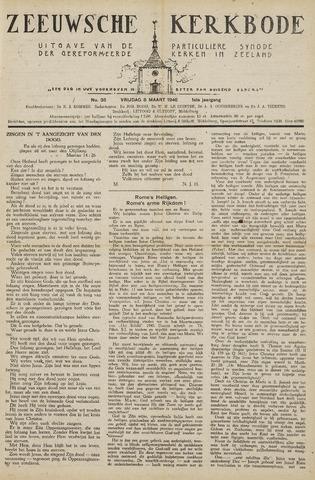 Zeeuwsche kerkbode, weekblad gewijd aan de belangen der gereformeerde kerken/ Zeeuwsch kerkblad 1946-03-08