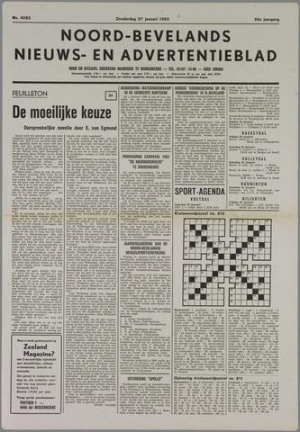 Noord-Bevelands Nieuws- en advertentieblad 1983-01-27