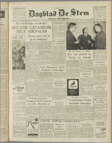 de Stem 1958-11-17