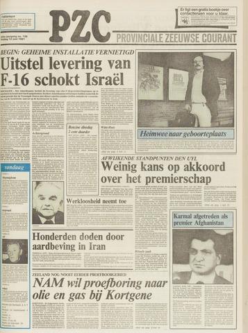 Provinciale Zeeuwse Courant 1981-06-12