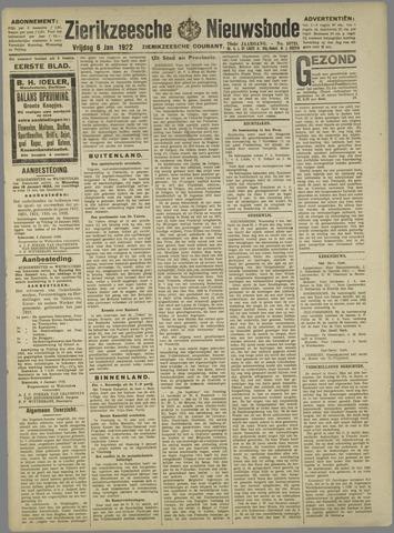Zierikzeesche Nieuwsbode 1922-01-06