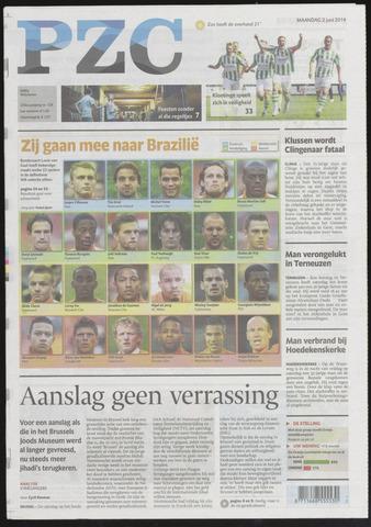 Provinciale Zeeuwse Courant 2014-06-02