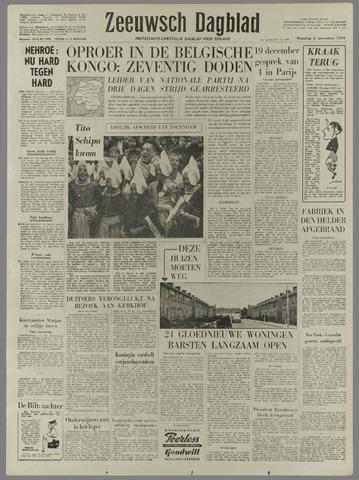 Zeeuwsch Dagblad 1959-11-02
