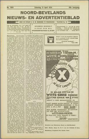 Noord-Bevelands Nieuws- en advertentieblad 1934-04-21