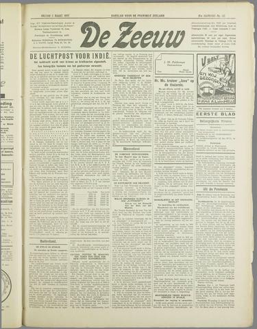 De Zeeuw. Christelijk-historisch nieuwsblad voor Zeeland 1937-03-05