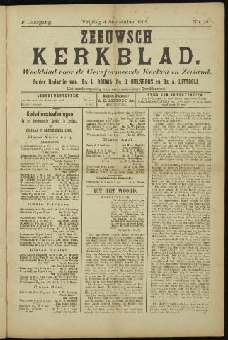 Zeeuwsche kerkbode, weekblad gewijd aan de belangen der gereformeerde kerken/ Zeeuwsch kerkblad 1903-09-04
