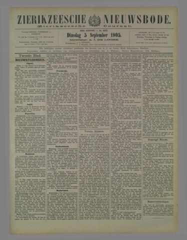 Zierikzeesche Nieuwsbode 1905-09-05