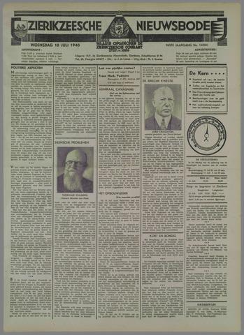 Zierikzeesche Nieuwsbode 1940-07-10