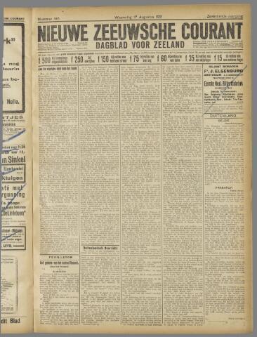 Nieuwe Zeeuwsche Courant 1921-08-17