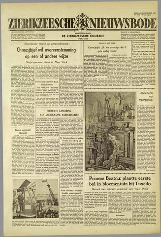 Zierikzeesche Nieuwsbode 1959-09-18