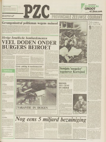 Provinciale Zeeuwse Courant 1981-07-18