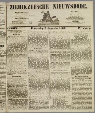 Zierikzeesche Nieuwsbode 1861-08-07
