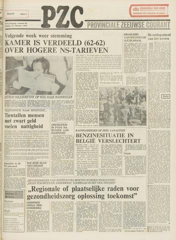 Provinciale Zeeuwse Courant 1974-02-22