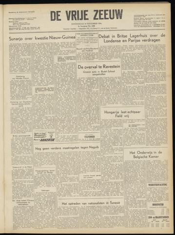 de Vrije Zeeuw 1954-11-18