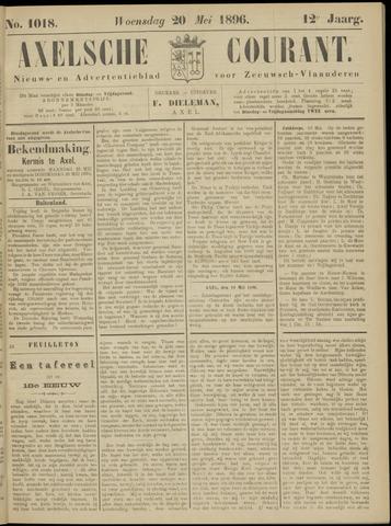 Axelsche Courant 1896-05-20