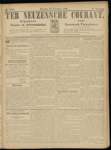Ter Neuzensche Courant. Algemeen Nieuws- en Advertentieblad voor Zeeuwsch-Vlaanderen / Neuzensche Courant ... (idem) / (Algemeen) nieuws en advertentieblad voor Zeeuwsch-Vlaanderen 1897-11-27