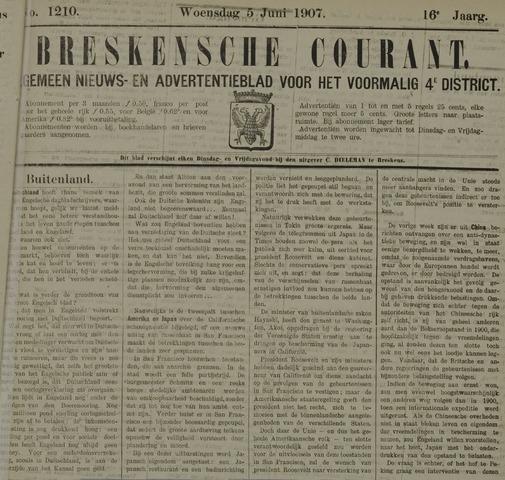Breskensche Courant 1907-06-05