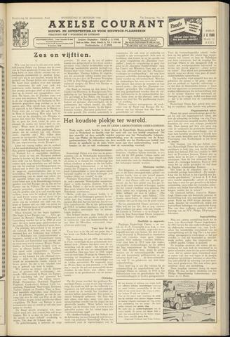 Axelsche Courant 1958-01-22