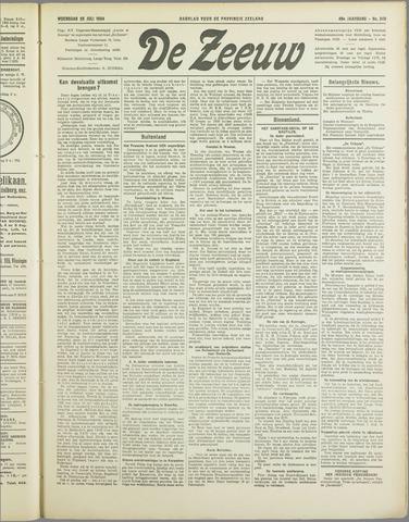 De Zeeuw. Christelijk-historisch nieuwsblad voor Zeeland 1934-07-25