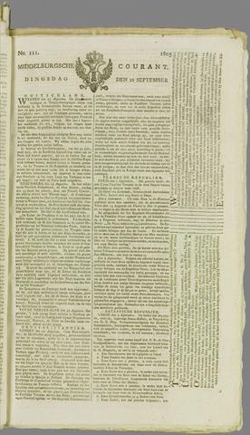 Middelburgsche Courant 1805-09-10