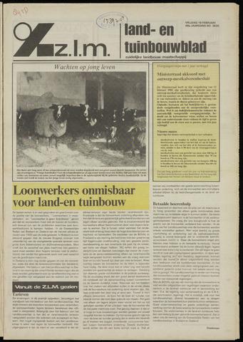 Zeeuwsch landbouwblad ... ZLM land- en tuinbouwblad 1982-02-19