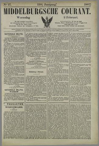 Middelburgsche Courant 1887-02-02