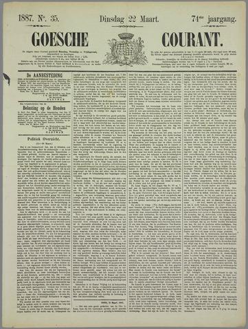 Goessche Courant 1887-03-22