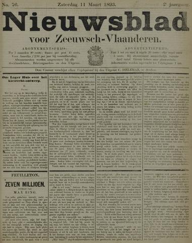 Nieuwsblad voor Zeeuwsch-Vlaanderen 1893-03-11