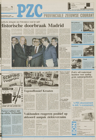 Provinciale Zeeuwse Courant 1991-11-04