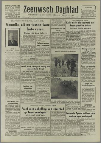 Zeeuwsch Dagblad 1957-01-23